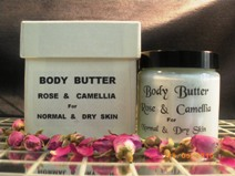 Rose and Camellia Body Butter