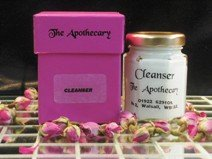 best face cleanser- orange blosson and carrot an aromatherapy skin care product.