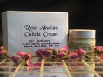 Rose cuticle cream.